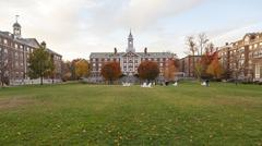 Harvard Moors Hall Stock Photos