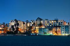 Stock Photo of santa monica beach