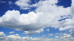 Clouds and sky cloudscape, time-lapse. Stock Footage