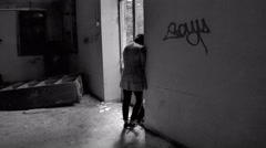 Depression and lonelyness - stock footage