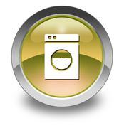 Icon, button, pictogram laundromat Piirros