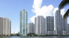 Brickell Key 4k Stock Footage