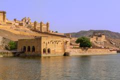 amer fort - stock photo