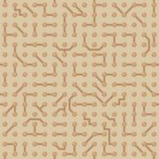 background with circuit board pattern. seamless texture - stock illustration
