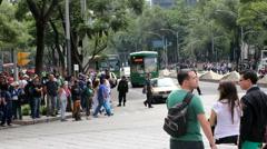 Pedestrians - stock footage