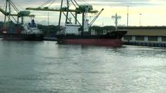 South Eeast Asia Borneo Island sultanate Brunei a pilot boat close to camera Stock Footage