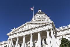 California Capitol Sacramento Kuvituskuvat
