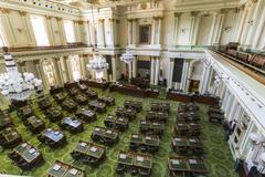 california state legislature - stock photo