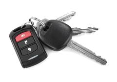 Stock Photo of remote car key