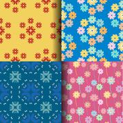 Abstract seamless pattern background Stock Illustration