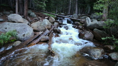 Rocky Mountain River - stock footage
