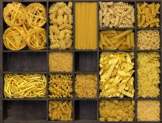 Stock Photo of various noodles