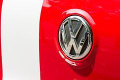 Volkswagen Sign - stock photo
