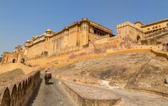 Amer fort Stock Photos
