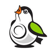 tit web cam logo - stock illustration