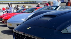 Ferrari California Stock Footage