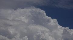 4K Cloud Splendor Time Lapse Stock Footage
