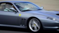 Ferrari 550 Maranello Stock Footage