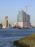 HafenCity Elbhilharmonie - stock photo