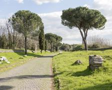 The Appian Way Stock Photos
