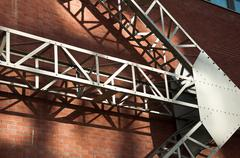 abtract architecture - stock photo