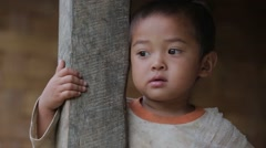 Hmong Child Stock Footage