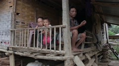 Hmong Family Stock Footage