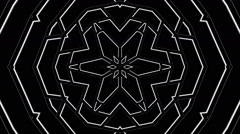 hypnotic lines Star B&N - LoopNeo VJ Loops HD 1920X1080 - stock footage