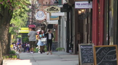 Boerum Hill. Brooklyn Storefronts Stock Footage