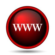 www icon - stock illustration