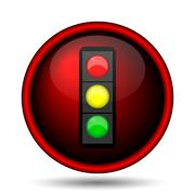 Stock Illustration of traffic light icon