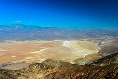 Dante's view, death valley Stock Photos