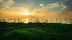 Sunrise in Satellite Beach Stock Footage