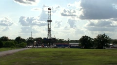 Oil Rig Stock Footage