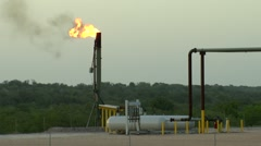 Stock Video Footage of Natural Gas