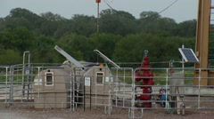 Oil Pumping Stock Footage
