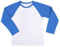 Child shirt. Isolated on a white background - stock photo