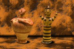 Ancient greek vases Kuvituskuvat