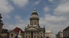 Gendarmenmarkt. Berlin Stock Footage