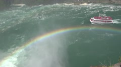 Rainbow, Colorful, Diffraction, Dispersion, Light Stock Footage