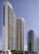 Stock photo of the Trump Tower Condominium Sunny Isles - stock photo