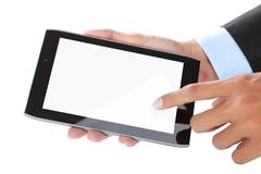 Stock Photo of touch screen