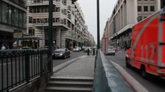 Friedrichstrasse. Berlin. Stock Footage