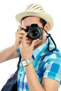 Stock Photo of man with camera