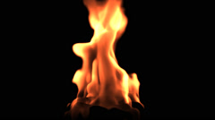 Fire Flames Animation Stock Footage