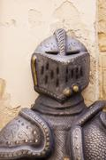 medieval body armour - stock photo