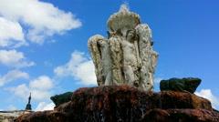 Medieval castle - Bulgaria [4k UHD] / Fountain Stock Footage