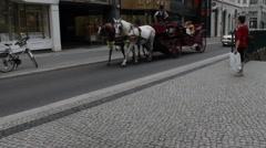 Friedrichstrasse Shopping Street. Berlin, Stock Footage