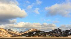 Landmannalaugar. Iceland. Stock Footage