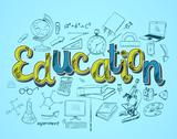 Education icon concept Stock Illustration